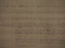 Partitura Marcel Duchamp