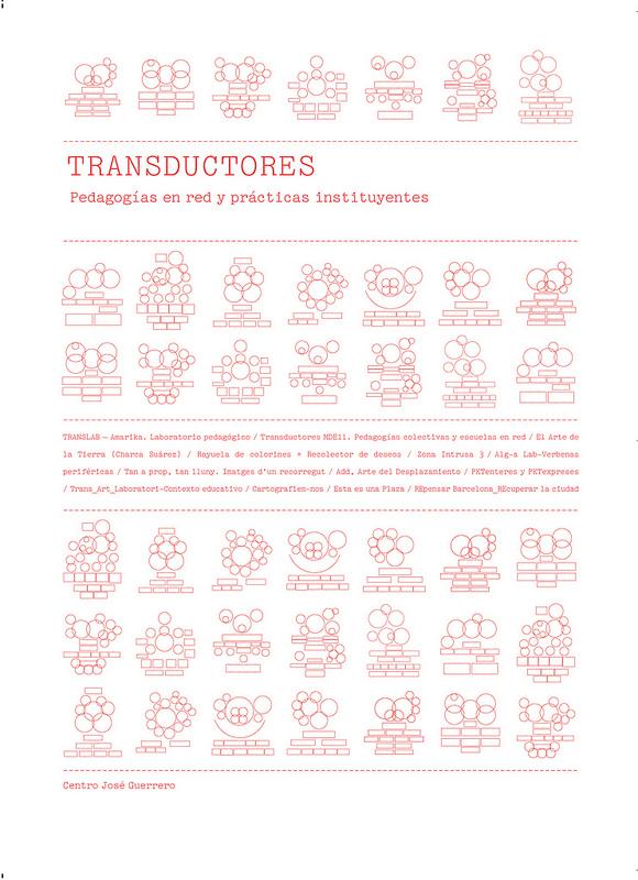 Portada del segundo libro de Transductores. Pedagogías en red y prácticas instituyentes.