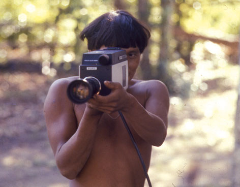 Yanomami With Camera, Juan Downey (1979)